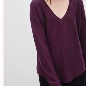 Aritizia Wilfred Galois Vneck sweater